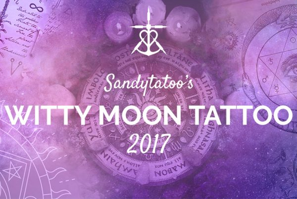 Soirées Witty Moon Tattoo Sandytatoo